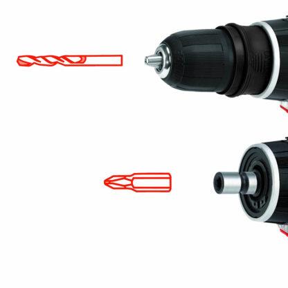 Trapano avvitatore Einhell TE-CD 12X-Li 2 velocità e 2 batterie